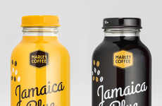 Eco-Conscious Coffee Labels - The Marley Coffee Brand is Socially Conscious & Responsibly Farmed