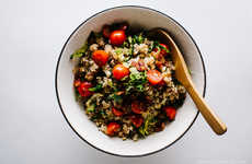 Sandwich-Inspired Rice Recipes - Iamafoodblog's BLT Fried Rice Dish Borrows From a Popular Sandwich