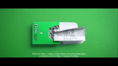 Engaging Chewing Gum Ads