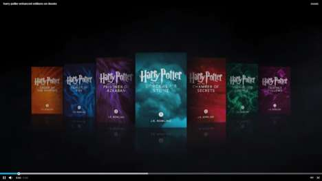 Digitally Enhanced Wizard Books - The Seven Harry Potter Books are Reinvented as Enhanced iBooks