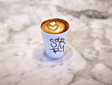 Ever-Evolving Cafe Logos