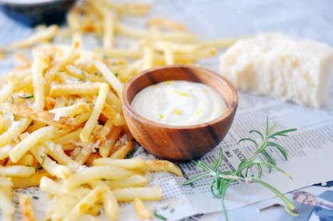 Herby Truffle Fries