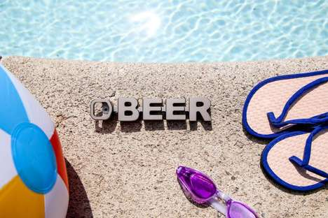 Typographic Beer Openers