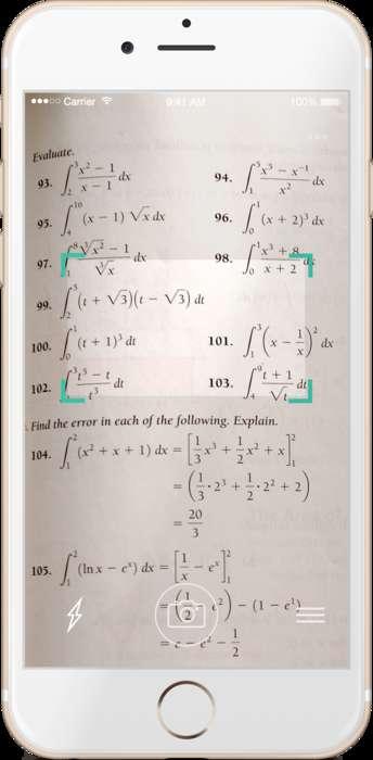 Equation-Decoding Apps