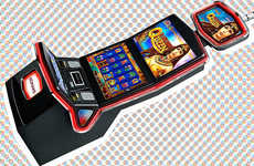 Wide-Screen Slot Machines