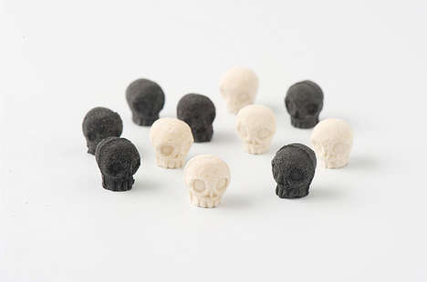 Skull-Shaped Sugar Cubes