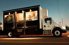 Mobile Wood Oven Pizzarias - This Food Truck is Equipped with a Fully Functional Wood-Fired Oven