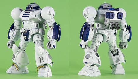 Muscular Sci-Fi Robots - The Hi2-D2-Enhanced Astromech Droid Gives R2-D2 an Impressive Overhaul