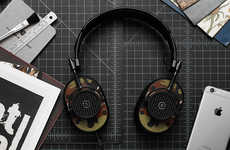 Hand-Painted Headphones