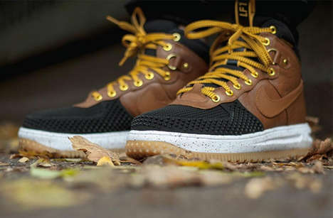 Boot-Inspired Sneakers