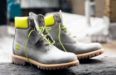 Neon-Accented Boots