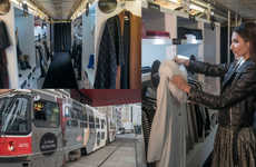 Chic Commuter Boutiques - Toronto Eaton Centre's Mobile Closet Makes Fashion Accessible