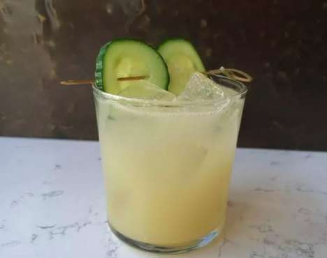 Frapped Absinthe Cocktails