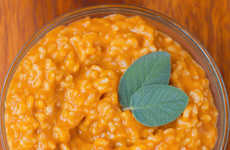 Festive Pumpkin Risottos - This Rich Gourd Rice Dish is Infused with Autumnal Flavors