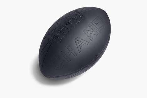 Commemorative Couture Sports Gear - The Chanel Rugby Ball Celebrates the Rugby World Cup