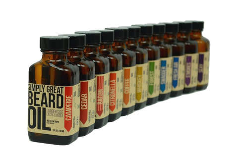 Pumpkin Beard Oils - The Simply Great Beard Skincare Oil Comes in a Festive Autumnal Scent