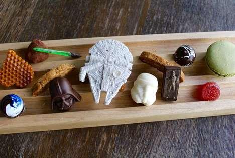 Galactic Chocolate Menus