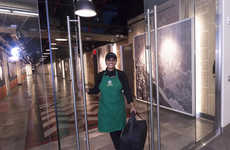 Coffee Delivery Apps - Starbucks' 'Green Apron Delivery' Only Caters to the Empire State Building