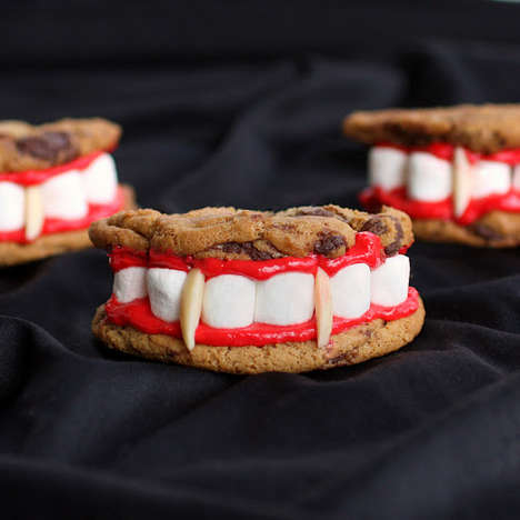 Fanged Sandwich Cookies