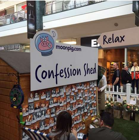 Floral Confession Booths