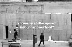 Homeless Shelter Stunts - This Fake Shelter Raised Concerns for an Affluent Toronto Neighborhood