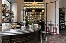 Authentic Parisian Bistros - The 'Caffè Propaganda' Design Honors the Elegance of Parisian Eateries