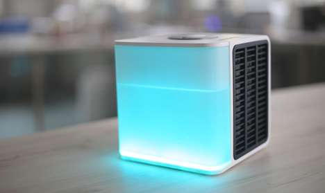 Personal Air Conditioners - 'Evapolar' Cools an Immediate Area Instead of a Whole Room at the Office