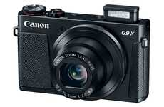 Compact Lightweight Cameras - The Canon PowerShot G9 X is Easy to Carry Around