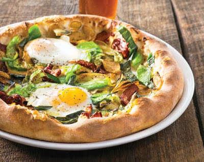 Hearty Breakfast Pizzas