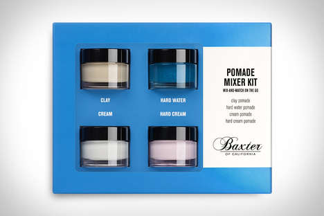DIY Coif Concoctions - The Baxter Pomade Mixer Kit Offers Four Different Products to Mix and Try
