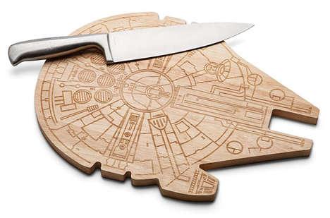 Spaceship Cutting Boards