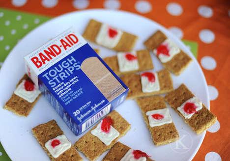 First Aid Halloween Cookies