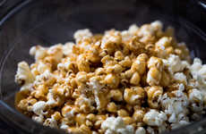 Caramelized Apple Popcorn - This Homemade Caramel Corn Features a Fruity Undertone