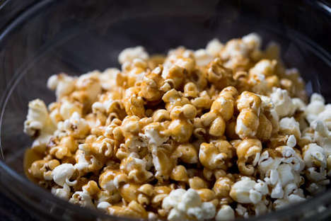 Caramelized Apple Popcorn