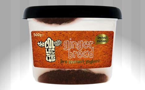 Spicy Gingerbread Yogurts