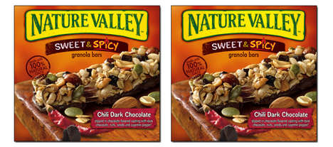 Spicy Chocolate Granola Bars