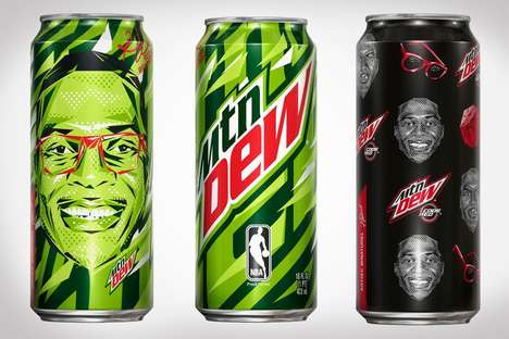Basketball Athlete Sodas