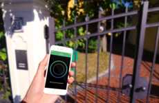 Communal Smart Locks - The 'Monkey' is a Smart Keyless Lock for Intercoms in Communal Homes