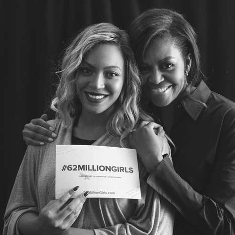 First Lady-Curated Playlists - This Michelle Obama Playlist Supports Her 62 Million Girls Campaign