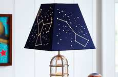 Celestial Lamp Decor - Pottery Barn Kids' Constellation Shade Encourages Sweet Dreams