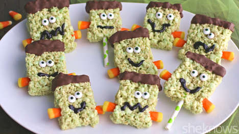 Monstrous Cereal Treats