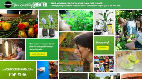 Gardening Inspiration Campaigns