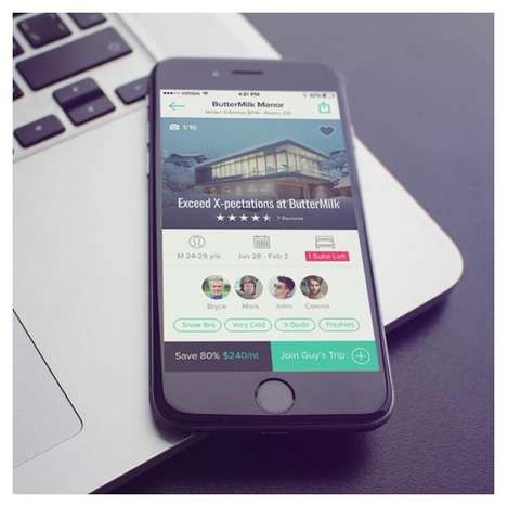 Hotel-Sharing Platforms - This Service Helps Travelers Rent Vacation Properties as a Group