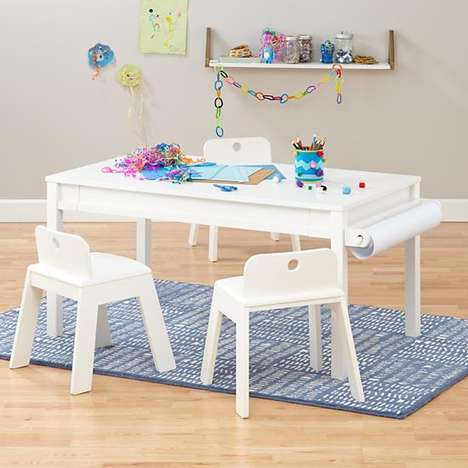 Transformative Activity Tables - The 'Extracurricular Play Table' Doubles as a Desk and Coffee Table