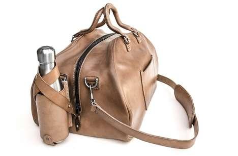 Vintage Leather Duffel Bags