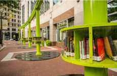 Artistic Pop-Up Libraries - This Miniature Library is Designed to Improve Local Literacy
