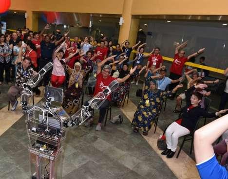 Robotic Fitness Instructors