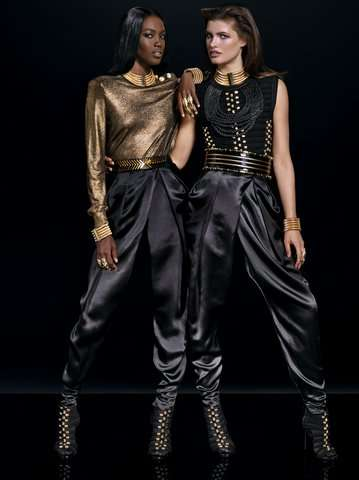 Affordable Couture Lookbooks - The Full Balmain x H&M Collection Has Finally Been Revealed