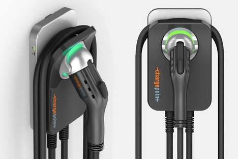 Residential Electric Vehicle Chargers - The ChargePoint Home is the Most Advanced Way to Power Up