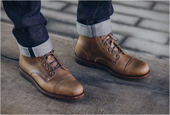 Rancourt x Huckberry Knox Boot